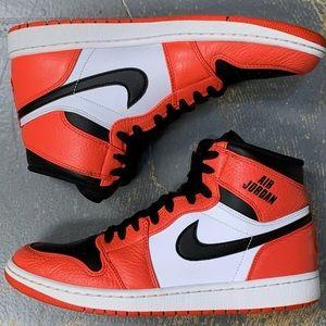 Air Jordan 1 Hi Rare Air Max Orange 332550-800 10